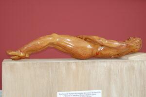 Sculpture Shroud in Exhibition, Panama