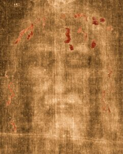 Negative image of the face