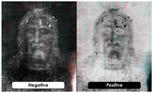 Positive and negative image face