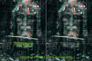Anaglyph photos use 3D glasses