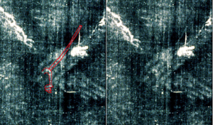 Figure 1. Image of rope (?) photo rigth side
