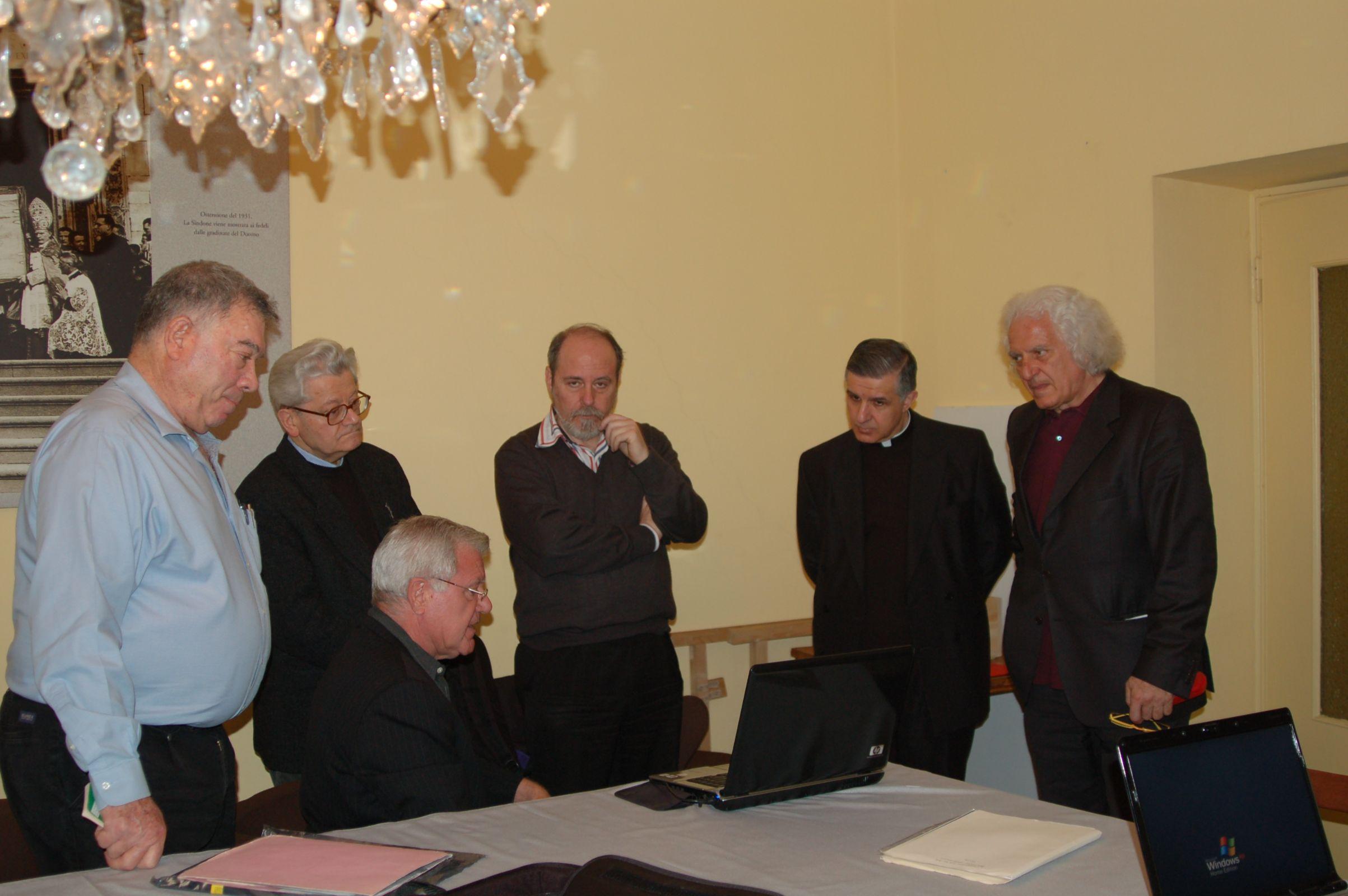 Avinoam Danin, Dr. Soons and Turin authorities