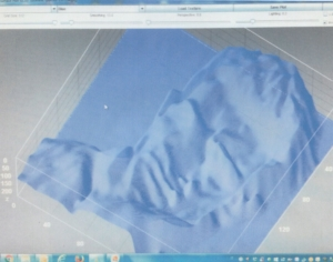 Photo 8. VP-8 Distorted image