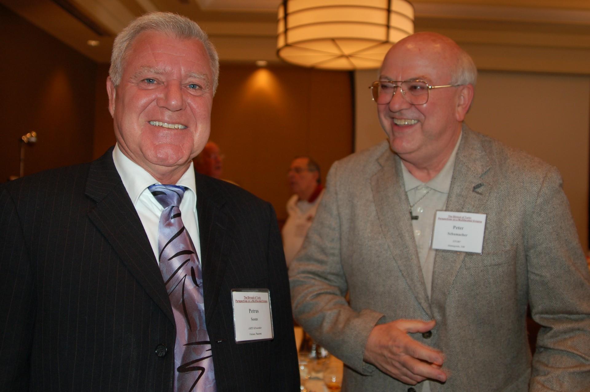 Dr. Petrus Soons and Deacon Pete Schumacher, Ohio