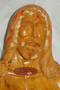 Figure 18. Sculpture with probable placement of solid oval object