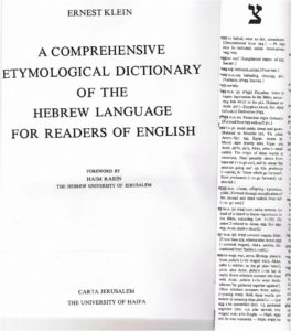 Image 12 Dictionary meaning TS'ON