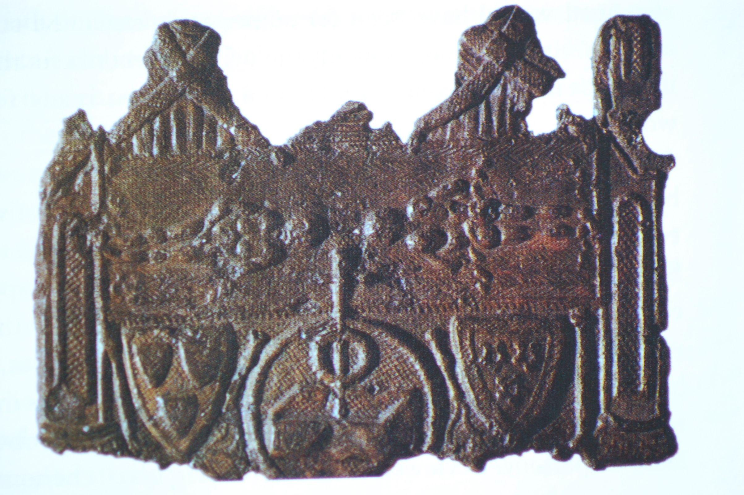 Photo 4. Lirey pilgrims amulet 1354 AD