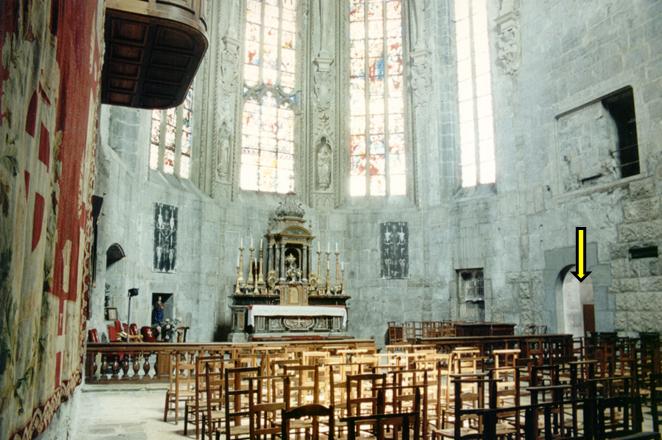 Photo 5. Chapel Chambery 1532 AD