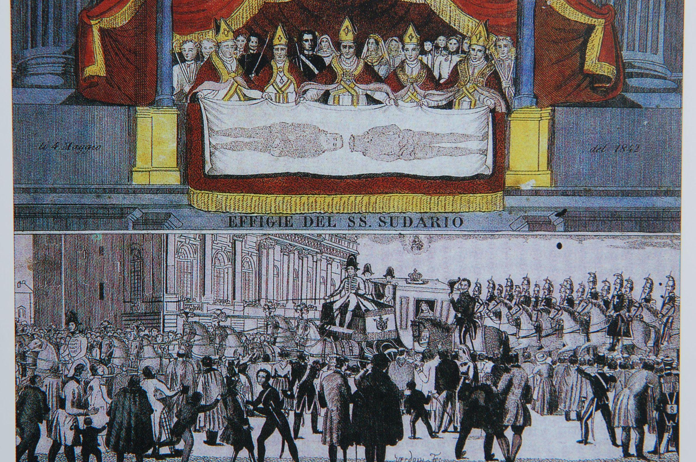 Photo 7. Exposition Shroud Turin 19th Century