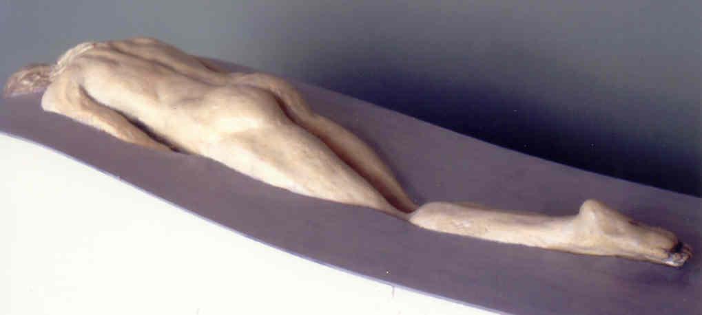 Photo 11. Event Horizon shown in Sculpture of Christ