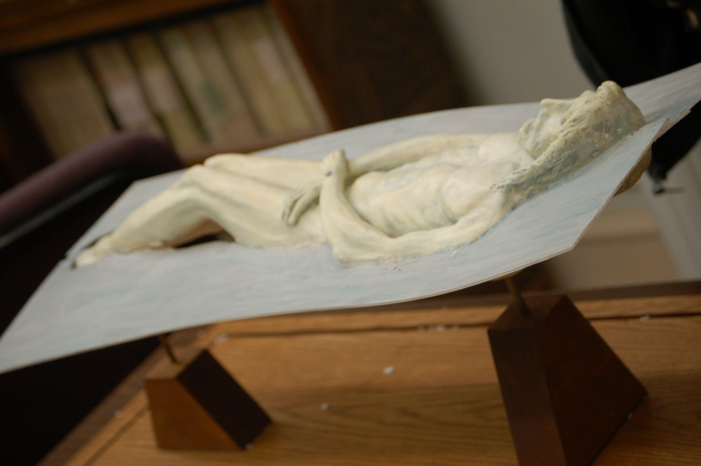 Photo 12. Event Horizon shown in Sculpture of Christ