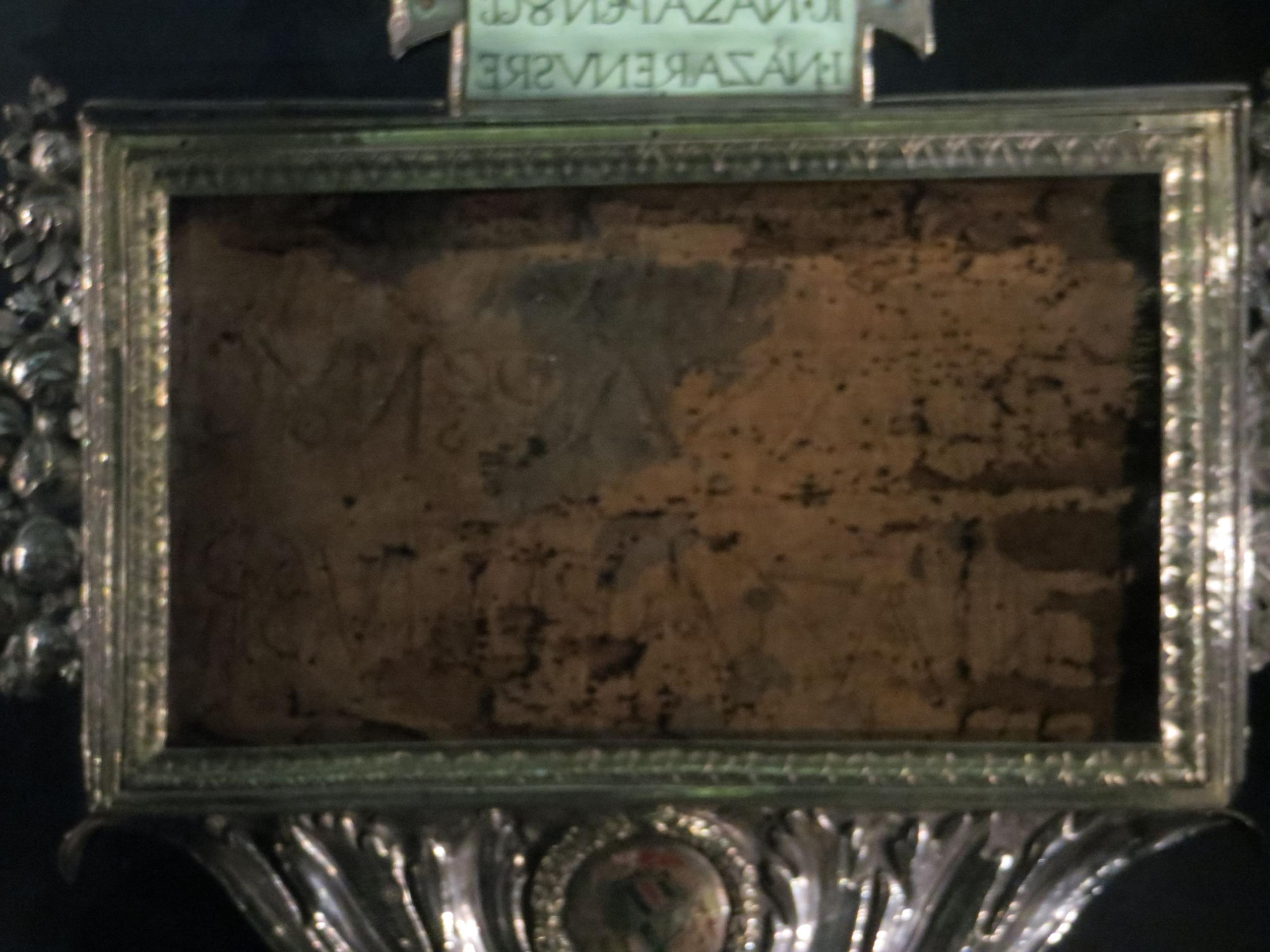 Photo 3. Part of the Titulus in Iglesia della Croce Rome