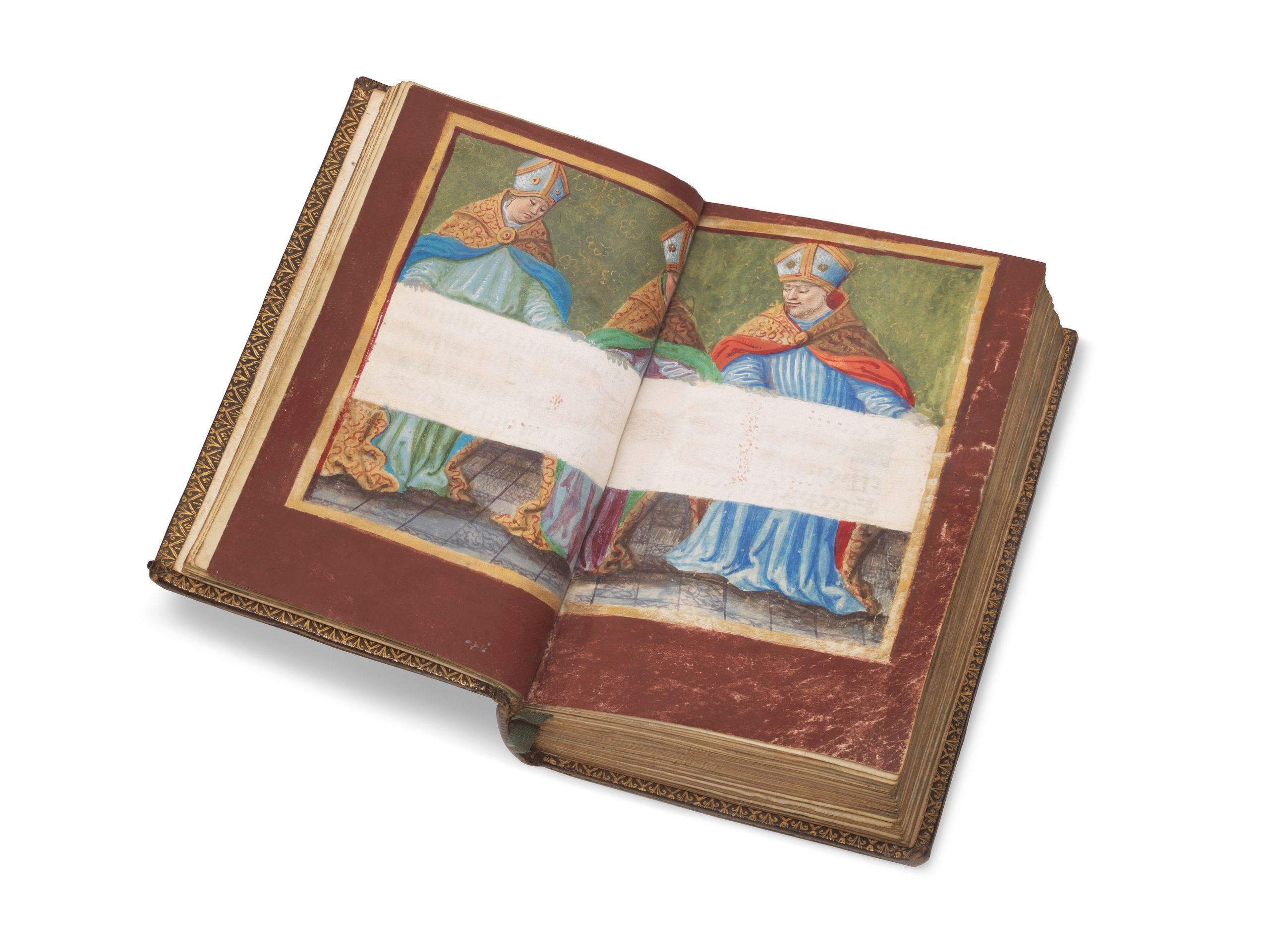 Photo 1. Prayer Book with Shroud