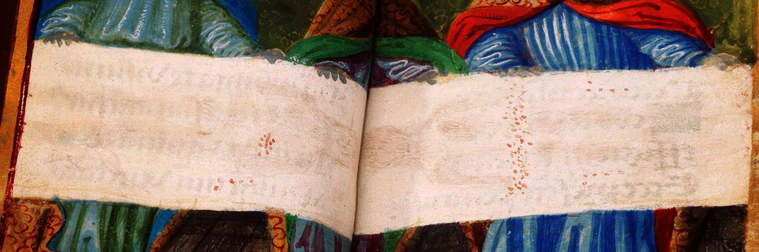 Photo 3. Prayer Book Shroud without fire damage 1532