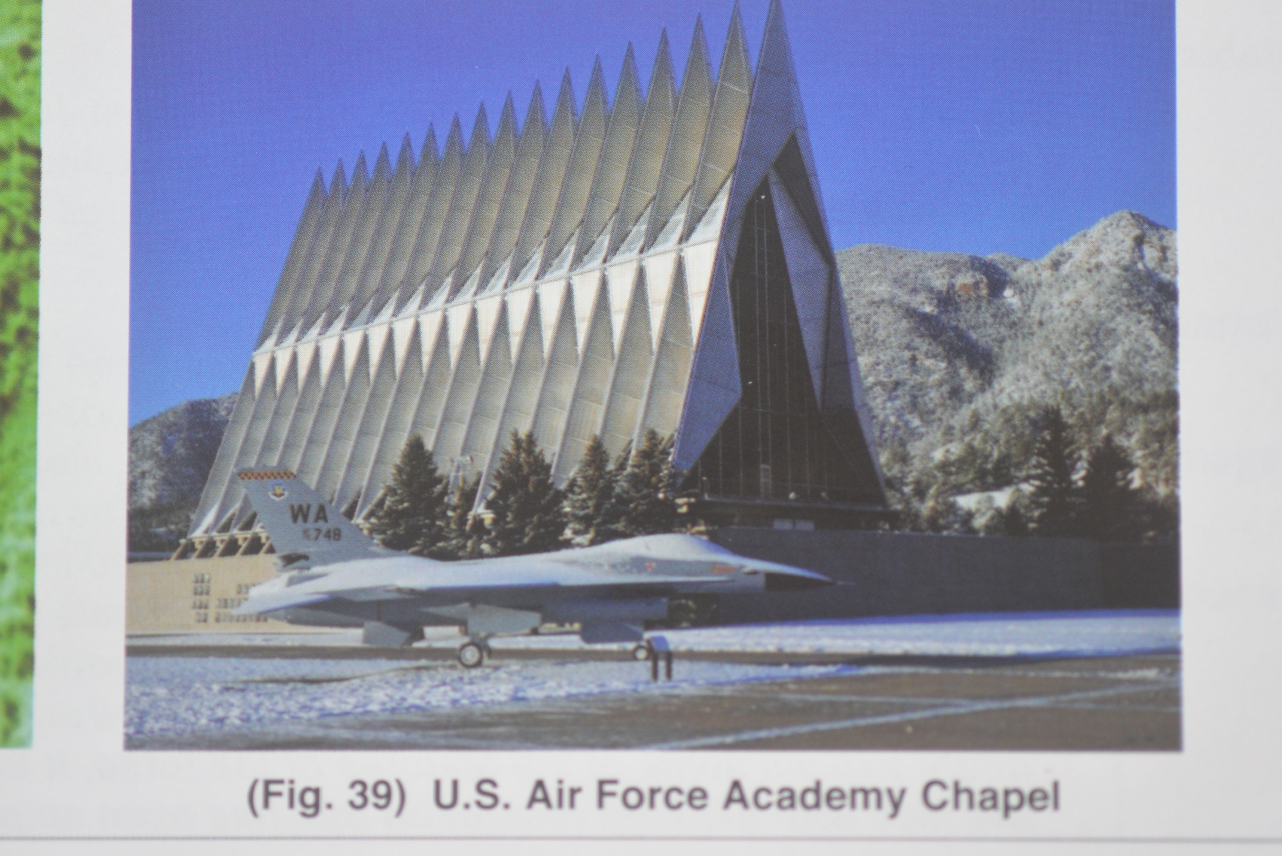 Photo 1. US Air Force Academy Chapel