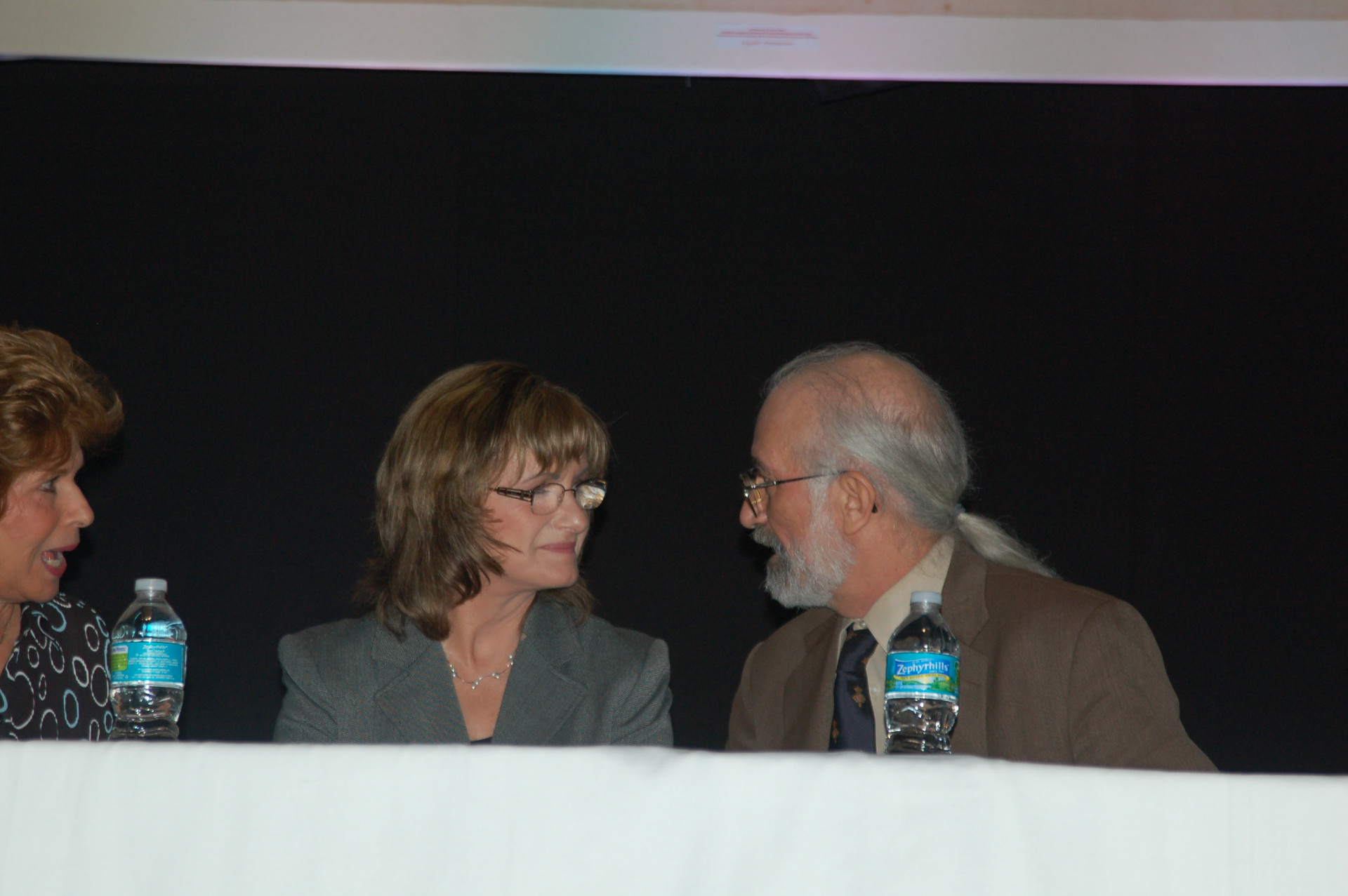 Conference Panama Janice Bennett and Barrie Schwortz